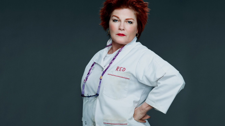 Kate Mulgrew (Galina Reznicov aka Red) from OITNB